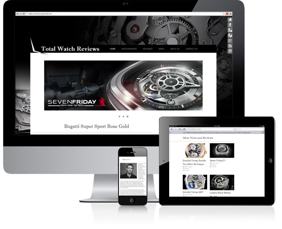 Total Watch Review Website